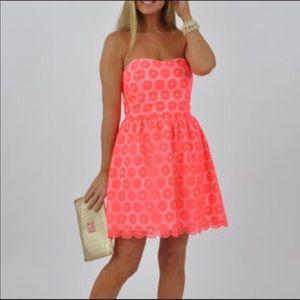 Lilly Pulitzer Payton Fiesta Pink Dress